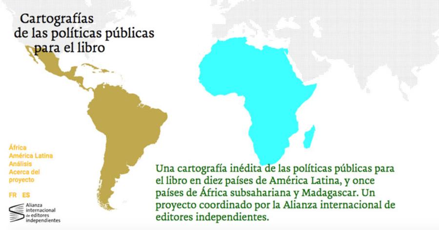 Cartografía de las políticas públicas para el libro en América Latina, y en África subsahariana y Madagascar