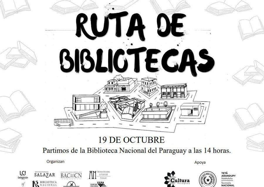 La Ruta de las Bibliotecas declarada de interés cultural en Paraguay