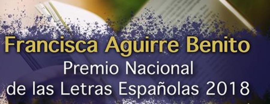 Francisca Aguirre, Premio Nacional de las Letras Españolas 2018