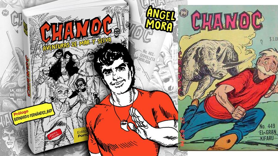 Editorial Porrua,devuelve a las librerías a Chanoc
