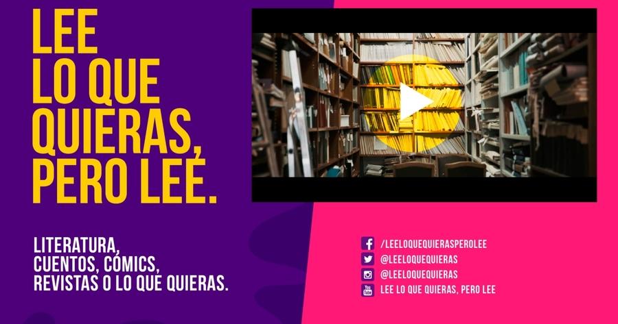 La campaña publicitaria colombiana Lee lo que quieras, pero lee, galardonada en el FIP 2018