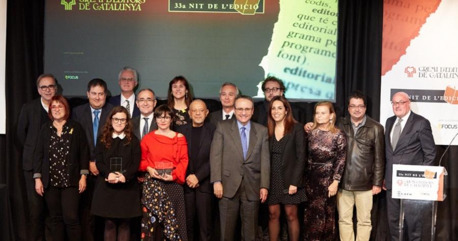 Catalunya celebró ayer la 33ª Nit de l'Edició