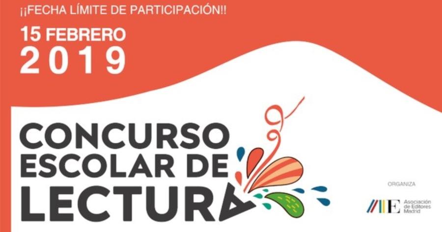 Concurso Escolar de Lectura 2018/2019