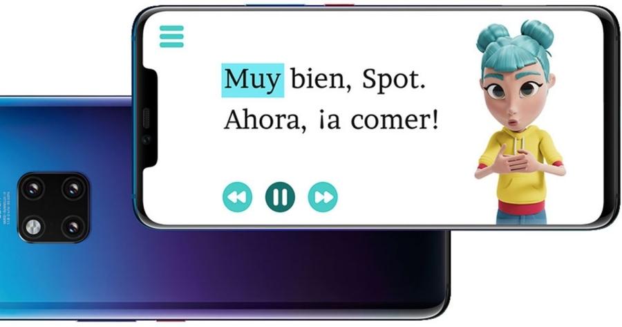 StorySign la nueva app de Huawei para que los niños sordos aprendan a leer