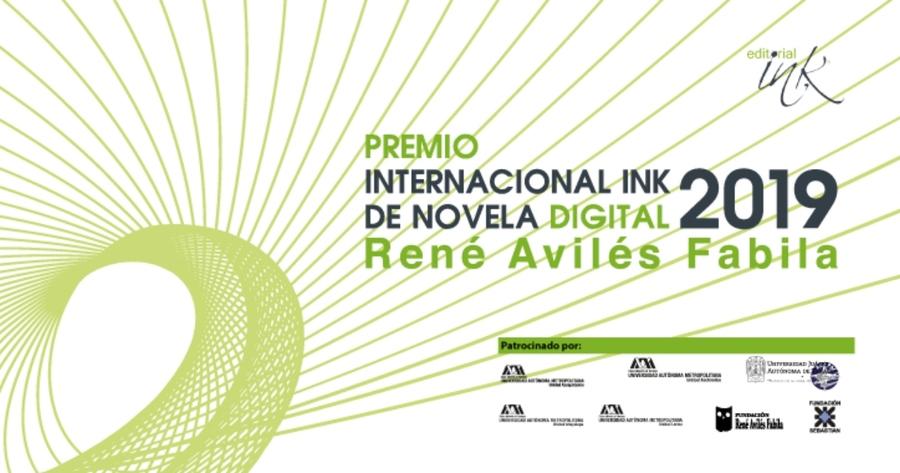 Abierta la convocatoria para el Premio Internacional Ink de Novela Digital René Avilés Fabila