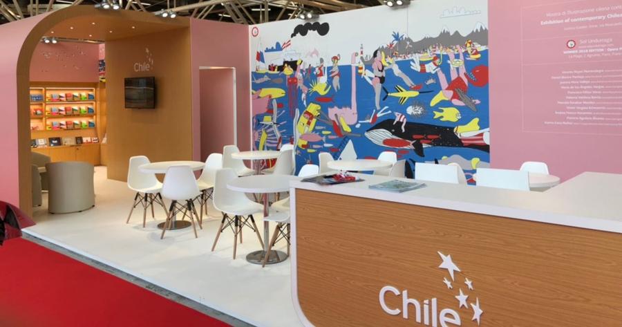 Chile abre convocatoria para asistir a la Feria del Libro de Bolonia