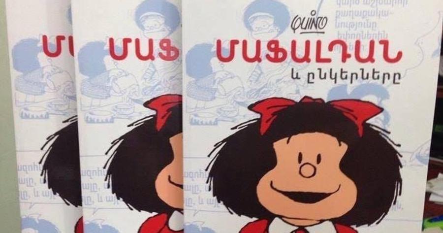Mafalda llega a Armenia