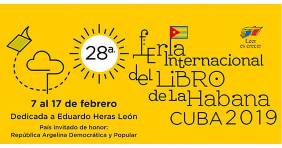 Presentan las primeras cifras de la Feria Internacional del Libro de la Habana
