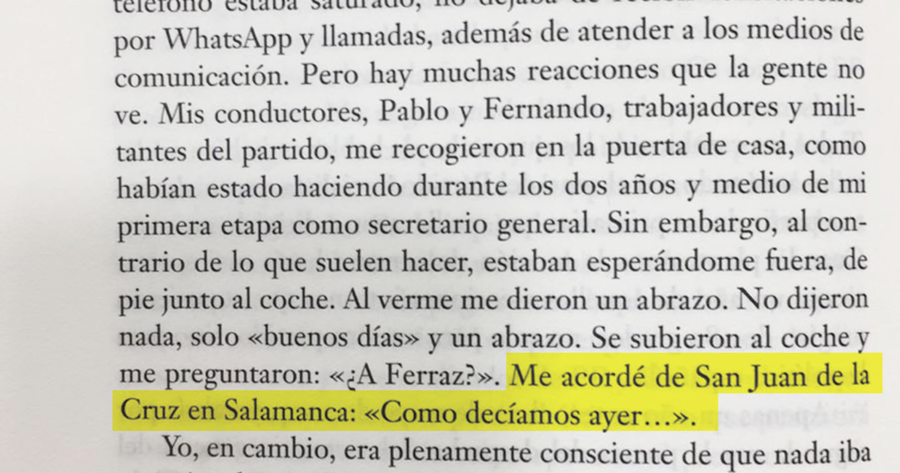 Hoy llega a las librerías _Manual de resistencia_ de Pedro Sánchez, rodeado por la polémica