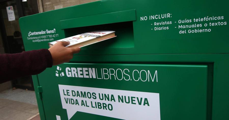 Una segunda vida para los libros escolares en Chile