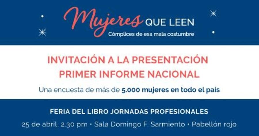 """Escuela de Editores presenta el informe """"Mujeres que Leen"""""""