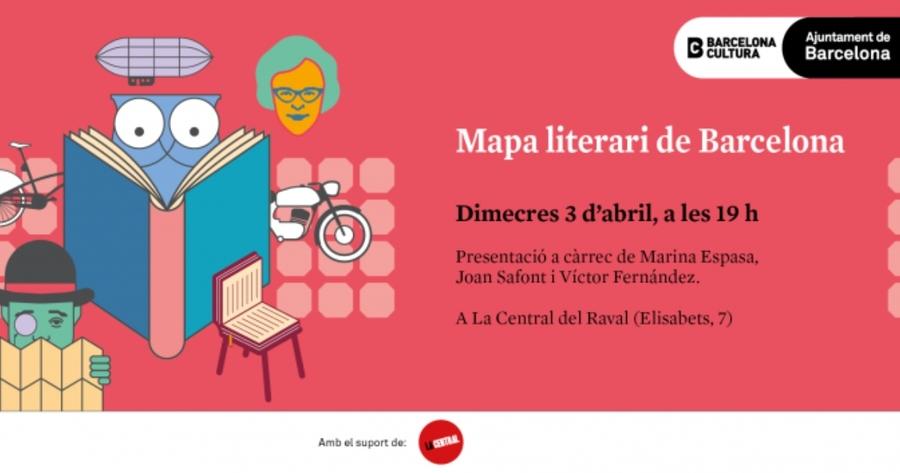 Barcelona Ciudad de la Literatura presenta un mapa literario de la ciudad