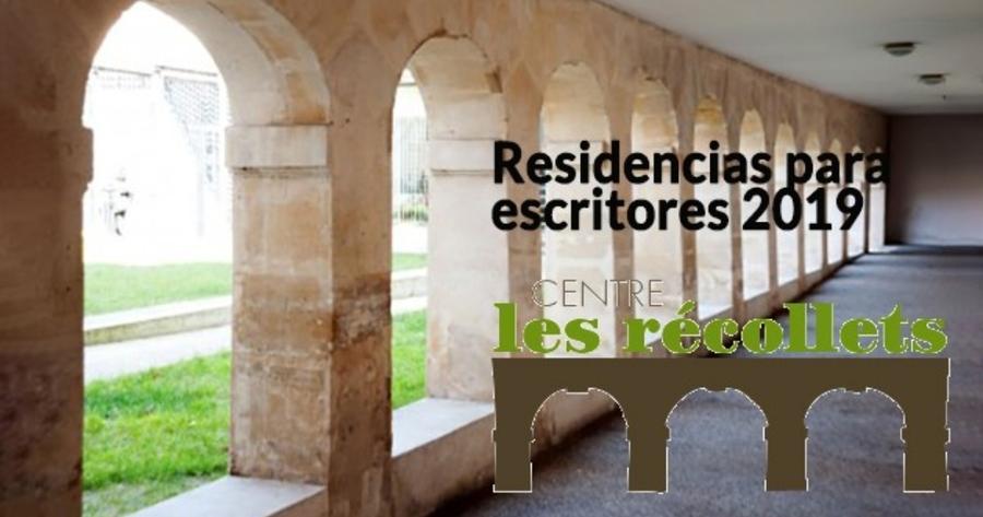 Convocada residencia para escritores en el Centro Les Recollets de Paris