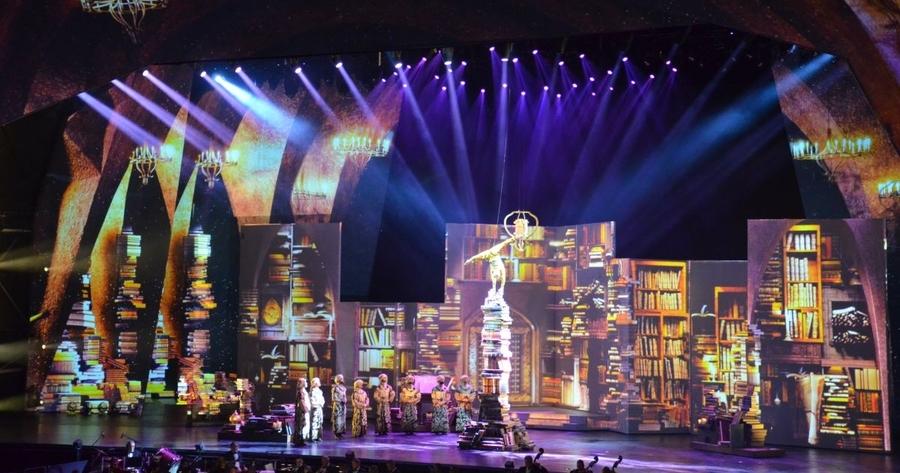 Sharjah celebró anoche el inicio de su año como Capital Mundial del Libro