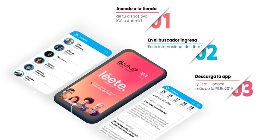 Ya está disponible para su descarga en dispositivos móviles la app de la FILBo