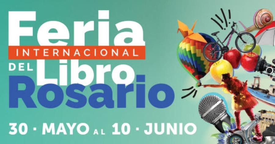 Mañana, 30 de mayo, comienza la Feria Internacional del Libro de Rosario 2019
