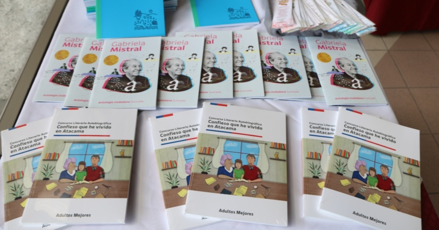 """Presentado en Huasca, Chile, el libro """"Confieso que he vivido en Atacama"""""""