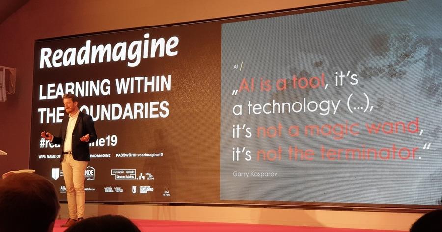 Readmagine. El futuro en tus manos