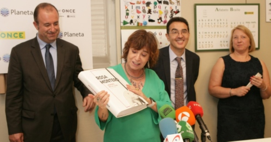 El Grupo Planeta y el Grupo Social ONCE cierran un acuerdo para la adaptación de libros y audiolibros destinados a personas ciegas