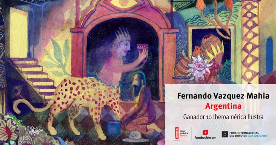 El ilustrador argentino Fernando Vázquez Mahia gana la décima edición del Catálogo Iberoamérica Ilustra