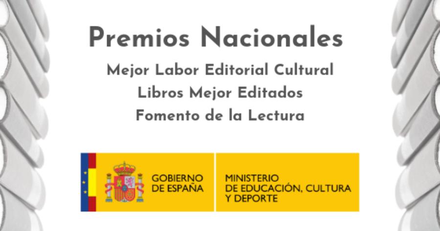 El Ministerio de Cultura y Deporte de España convoca los premios nacionales 2018 relacionados con el libro y la lectura