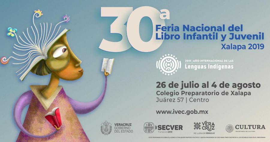 Hoy se inaugura en Xalapa la 30 ª Feria Nacional del Libro Infantil y Juvenil