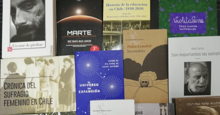 El ministerio de las Culturas de Chile selecciona más de 150 títulos para su distribución en bibliotecas públicas
