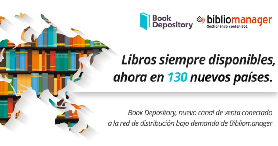 Bibliomanager y Book Depository llegan a un acuerdo para impulsar la distribución del libro en español en más de 130 países
