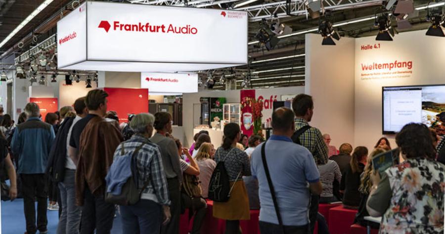 El turno del audio en la Feria de Frankfurt