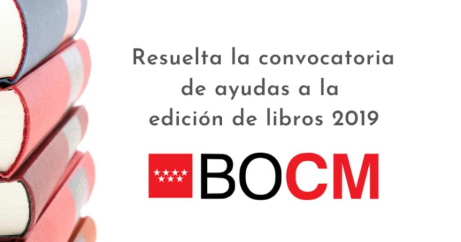 51 editoriales madrileñas se beneficiarán de las ayudas a la edición de libros 2019