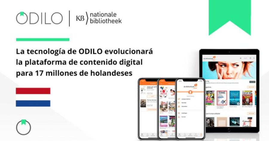 ODILO se adjudica el concurso de proveedor para bibliotecas públicas de los Países Bajos