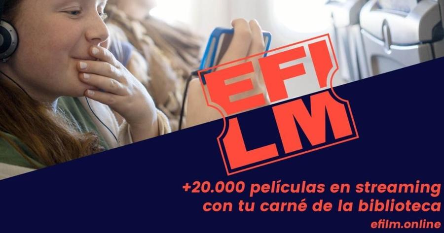 """eFilm el """"Netflix"""" de las bibliotecas públicas españolas"""