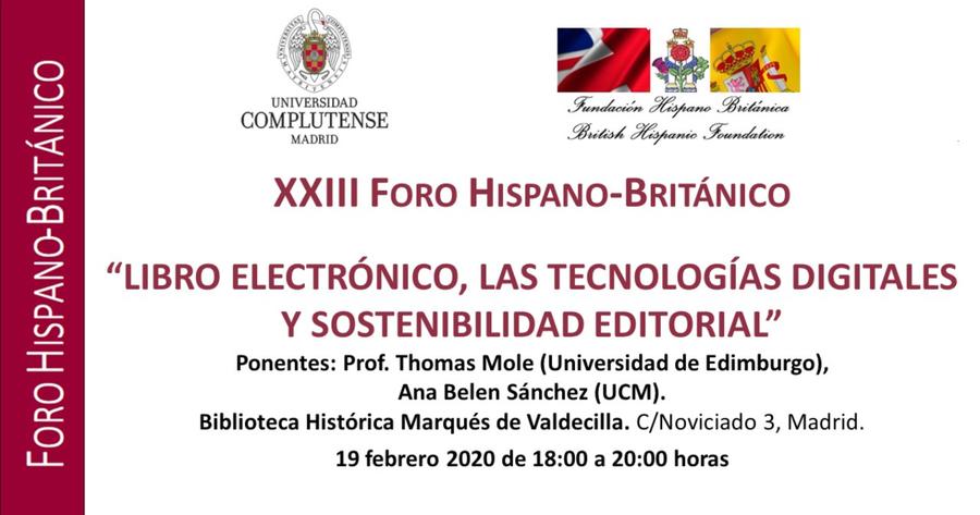 Libro electrónico, las tecnologías digitales y sostenibilidad editorial