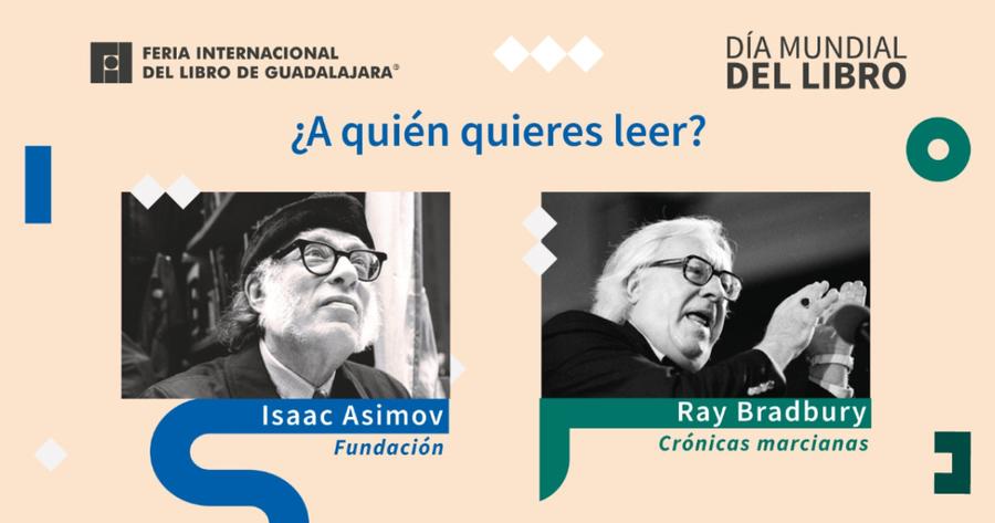 Asimov contra Bradbury: una batalla de ciencia ficción