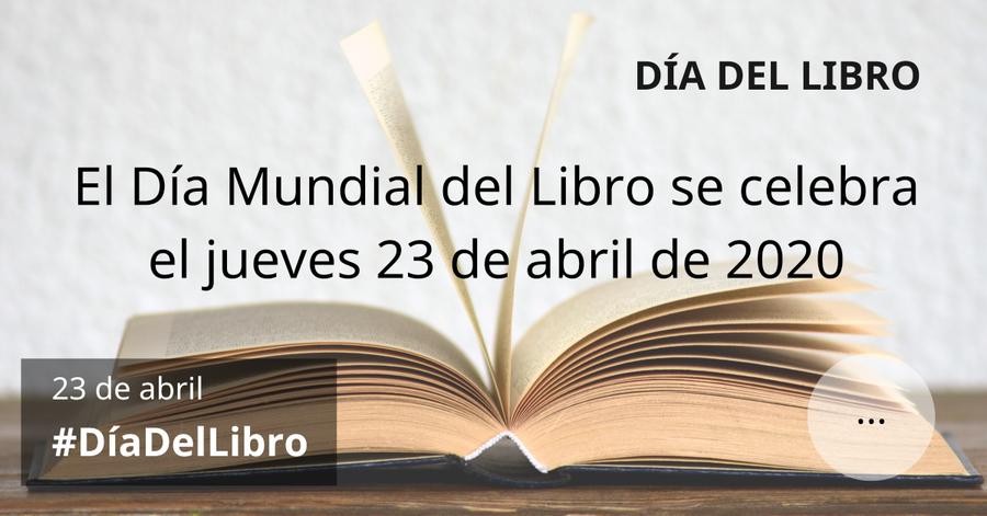 Las cámaras del libro de España mantienen el día del libro, pero retrasan la celebración comercial