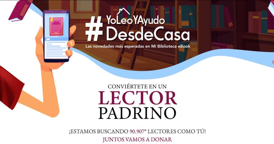 #YoLeoYAyudoDesdeCasa