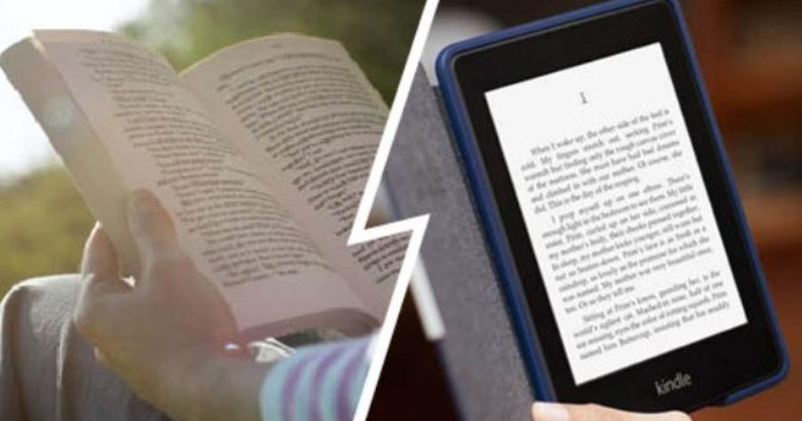 Lectura en papel vs lectura en pantalla