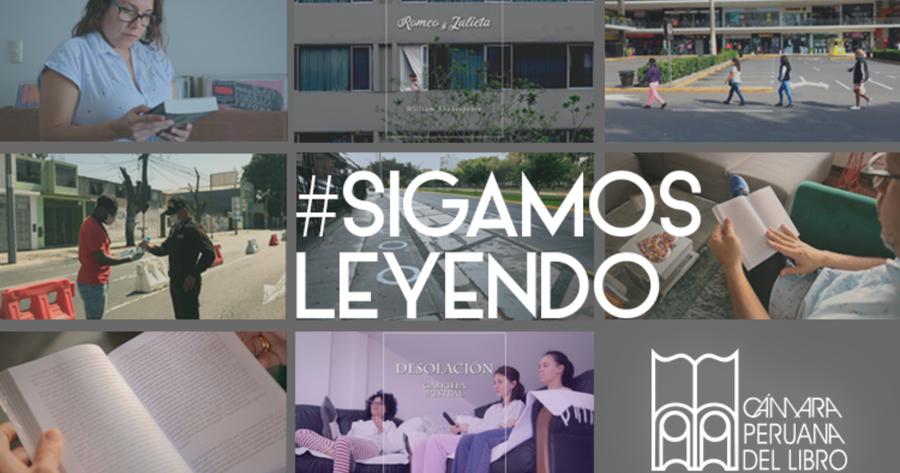 #SigamosLeyendo, la nueva campaña de la Cámara Peruana del Libro