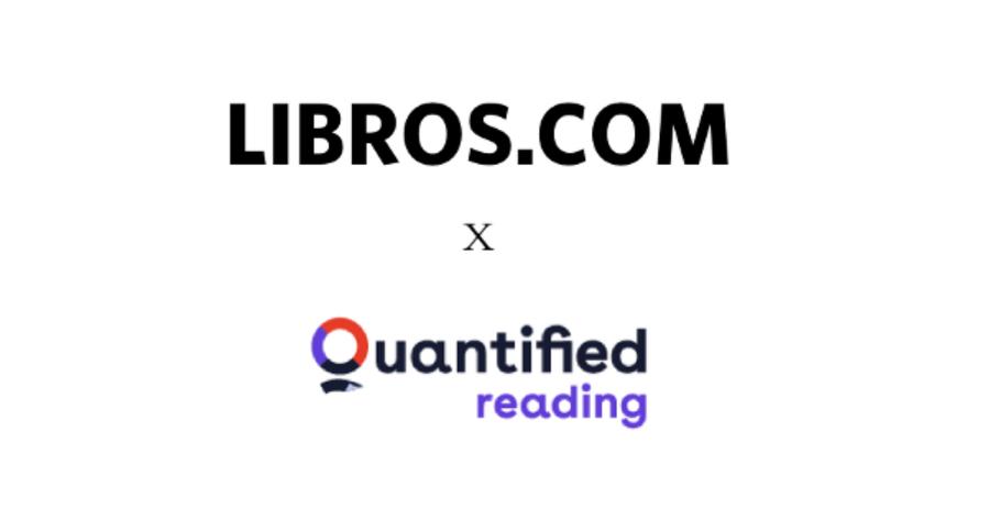 Quantified Reading y Libros.com unen esfuerzos
