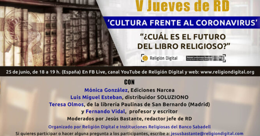 «Cultura frente al coronavirus: ¿cuál es el futuro del libro religioso?»