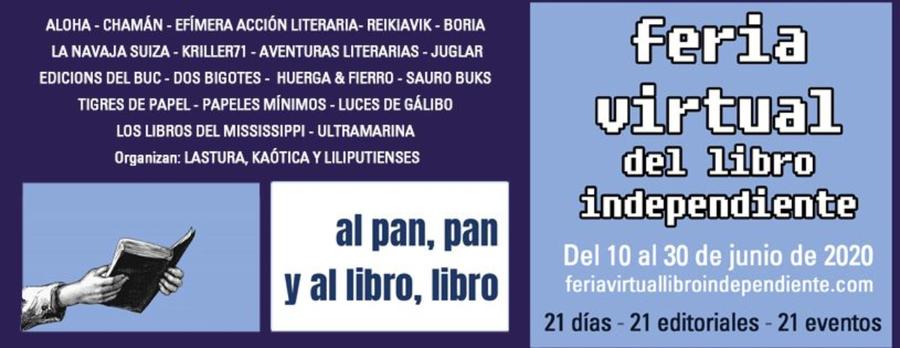 Hoy comienza la I Feria Virtual del Libro Independiente