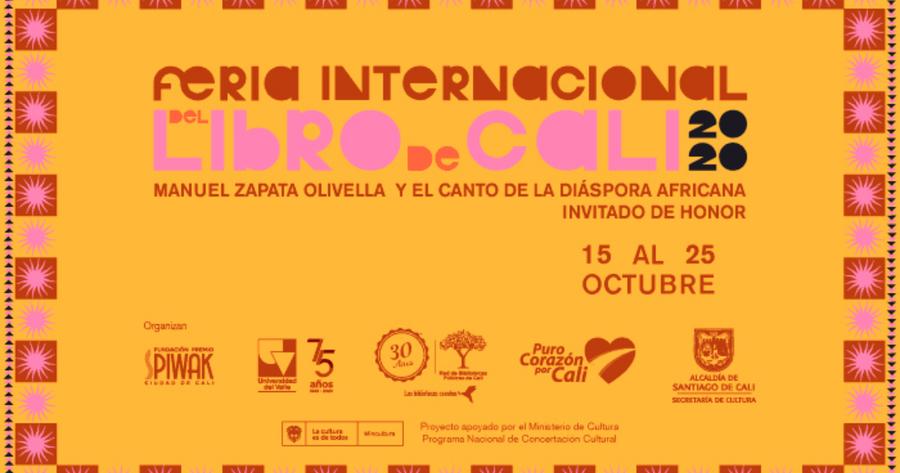 La Feria Internacional del Libro de Cali 2020 Virtual se celebrará del 15 al 25 de octubre