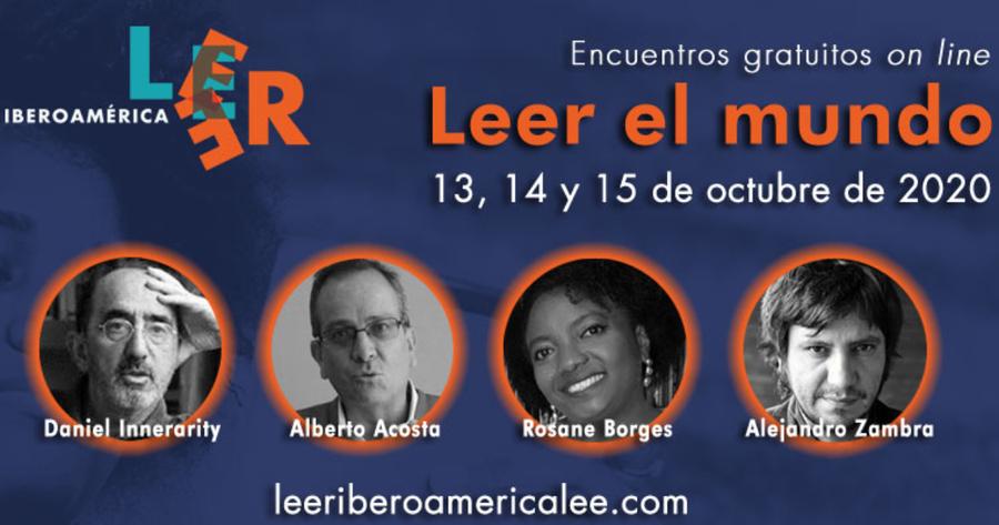 Leer Iberoamérica Lee se celebrará virtualmente los días 13,14 y 15 de octubre