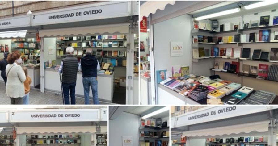 Las editoriales universitarias españolas participan en la Feria del Libro de Gijón