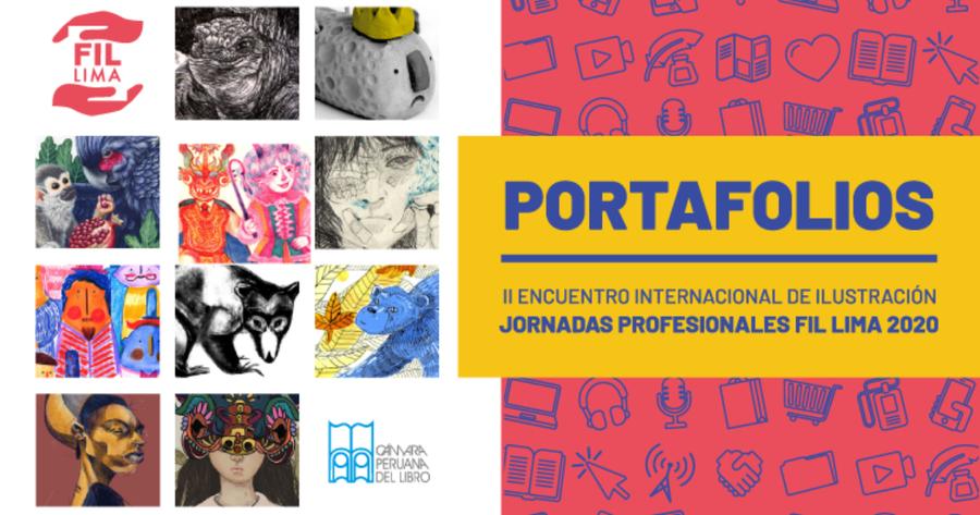Portafolios de ilustración de la FIL LIMA 2020