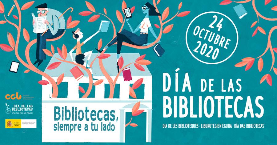 El próximo 24 de octubre España celebrará el Día de las Bibliotecas