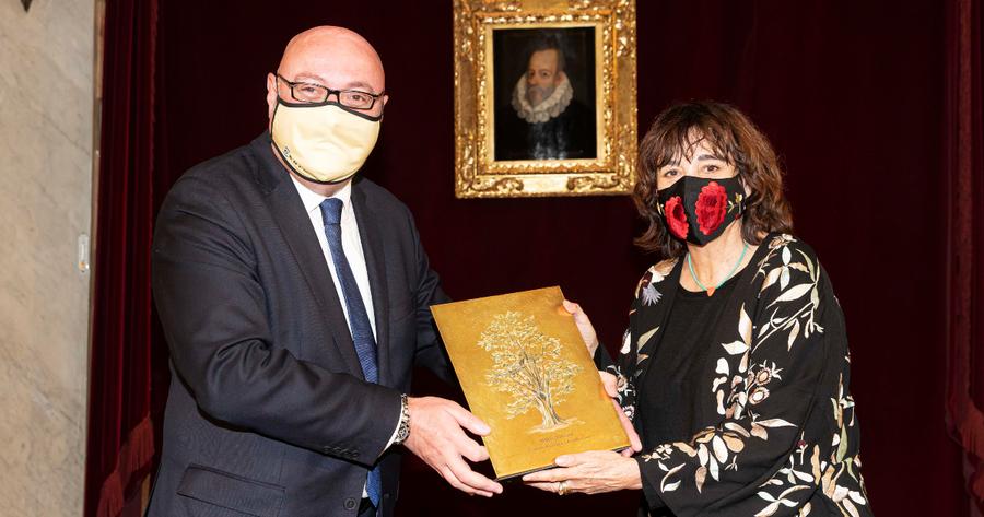 Daniel Fernández solicita al Gobierno de España que no deje a la cultura sin derechos en la entrega del premio CEDRO