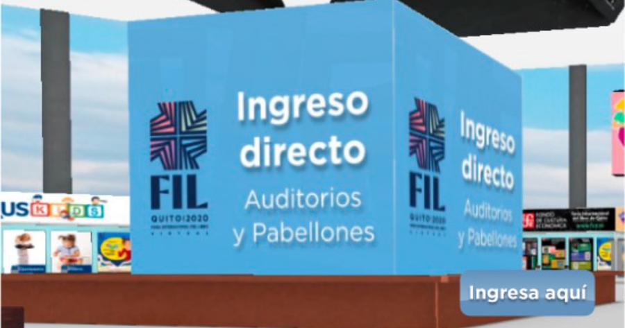 ¡Comenzó la FIL Quito 2020!