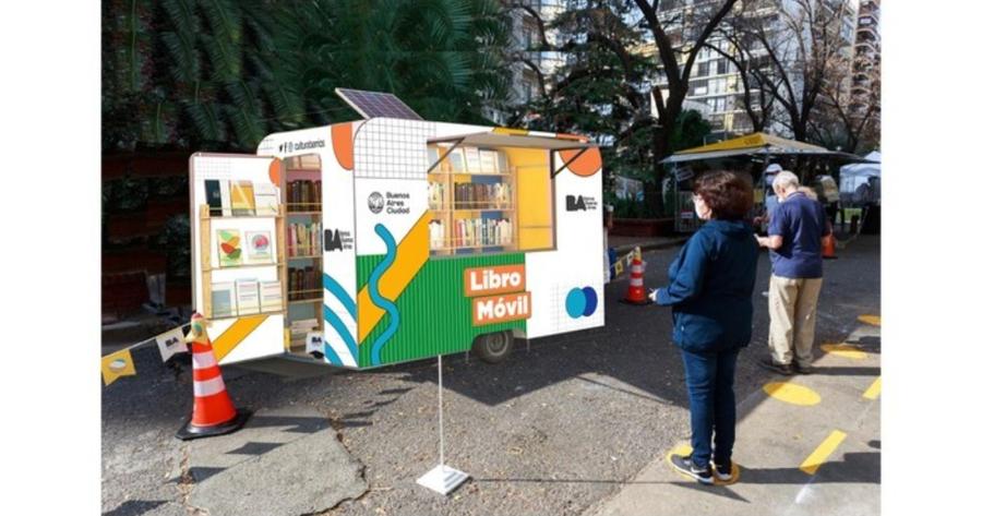 Libro Móvil recorrerá la ciudad de Buenos Aires