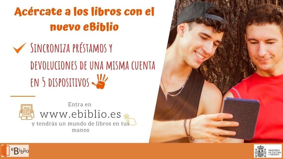 El Ministerio de Cultura español reforzará eBiblio con una inversión de 4 millones de euros en nuevas licencias de publicaciones electrónicas